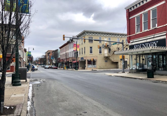 South Main Street pictured the afternoon of Wednesday, Jan. 16.