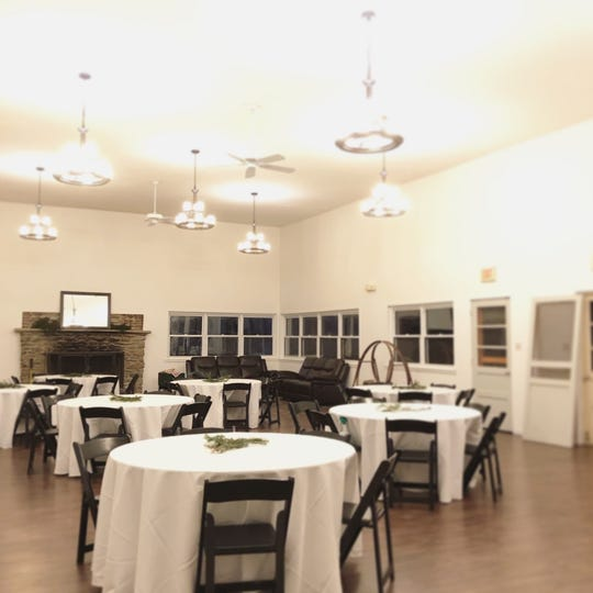 The Lodge is one of the renovated areas that can be rented out for weddings and other events. (Photo courtesy of Mill Creek Falls Retreat)