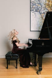"Pianist Natasha Paremski will release a new album Friday, Jan. 18, featuring her performances of ""Pictures at an Exhibition,"" by Modest Mussorgsky, and ""Variations on a Theme by Tchaikovsky,"" by Fred Hersch."