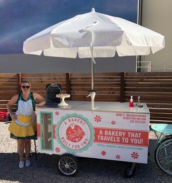 Anne DeAngelis, an interior designer-turned-baker, opened the mobile treatery and custom cake service in summer 2018.