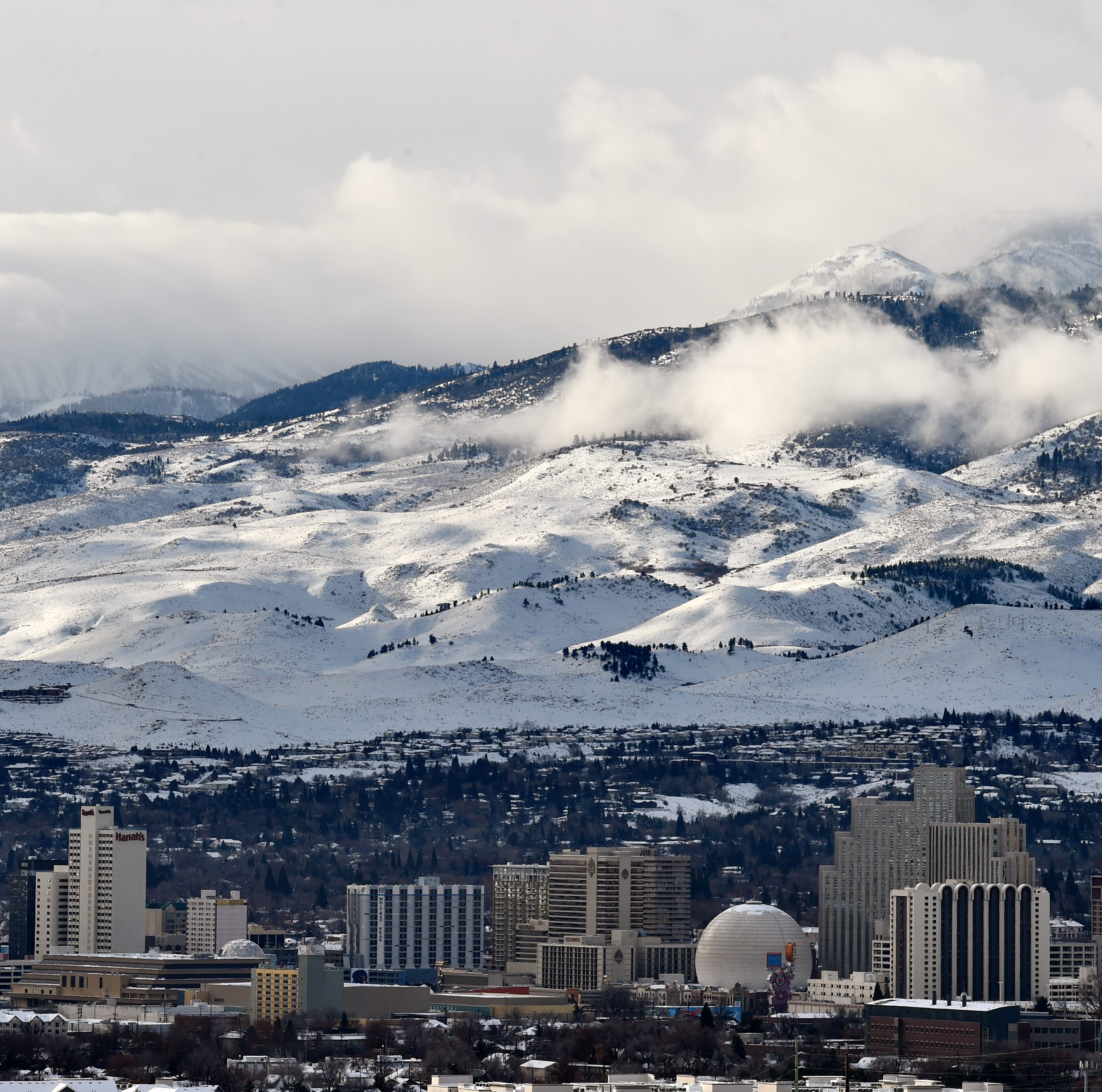 Winter weather: No chain controls currently on I-80, but snow is on its way