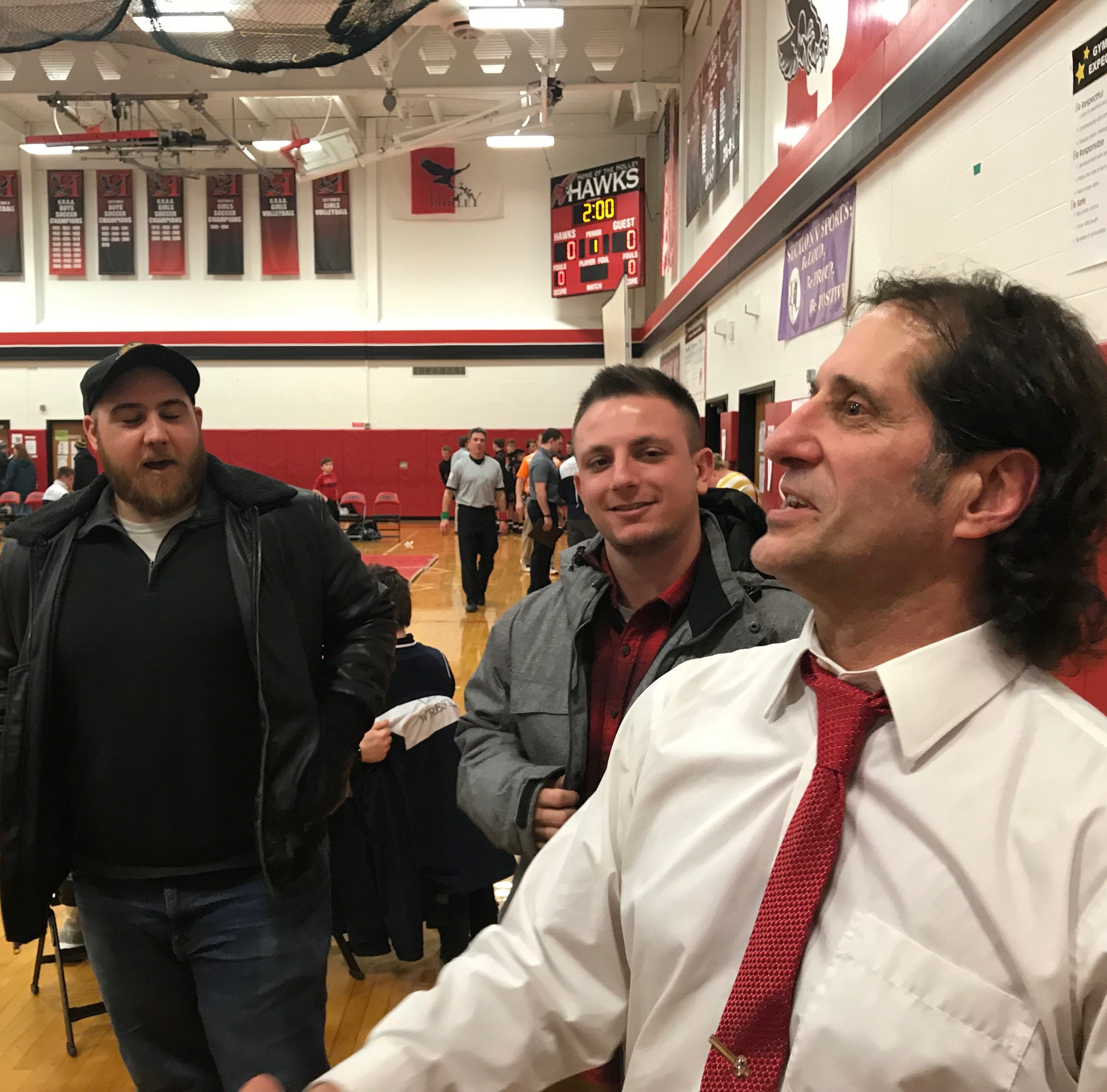 After 44 years of doing it his way, wrestling coach John Grillo prepares to step away