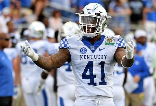 Kentucky Wildcats linebacker Josh Allen recorded 18 sacks in 2018.
