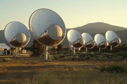 Hat Creek Radio Observatory in Shasta County