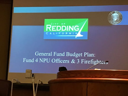 The Redding City Council approved raising some city fees to raise the $800,000 needed to fund seven public safety workers.  Some residents wanted the measure to also include spending cuts.