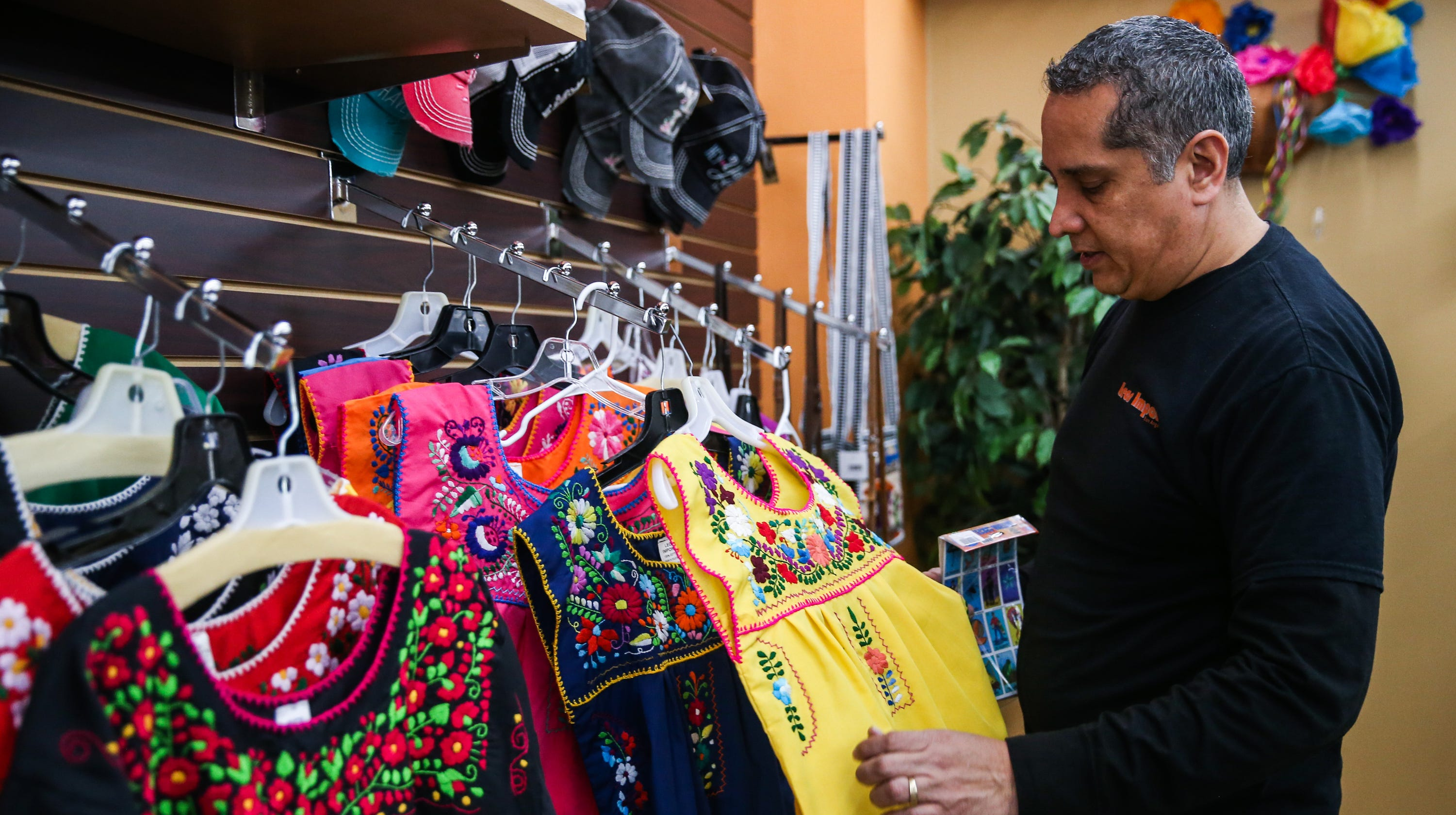 75d808231bc San Angelo s downtown store Leos Imports has modernized the traditional Mexican  dress