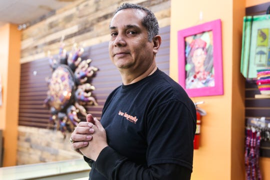 Hector Leos, owner of Leos Imports, started his store online and opened the retail store in 2016.