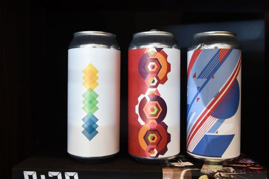 Some of Lt Grey Creative's work with Dewey Beer Co.