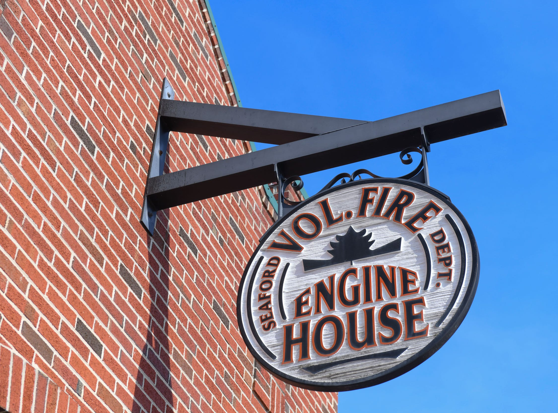 Seaford Volunteer Fire Department Engine House located in downtown Seaford houses two antique fire trucks that were original to the city and has been fully restored.