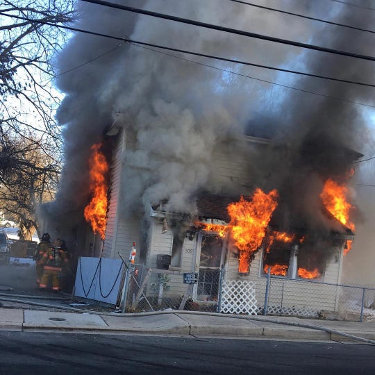 A fire at a Salisbury home Tuesday killed two family pets and left $65,000 in damages, the State Fire Marshal's office reported on Jan. 15, 2019.
