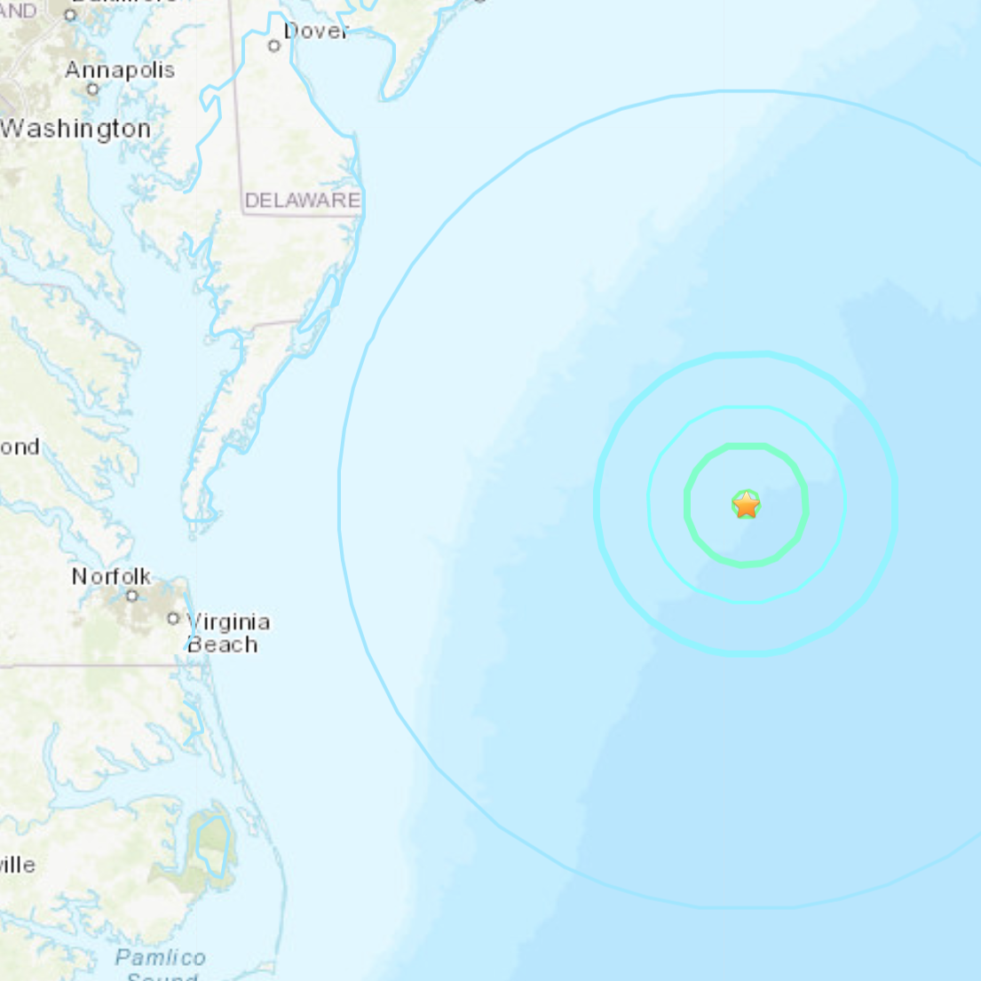 Ocean City earthquake: Tsunami risk described as very low after quake