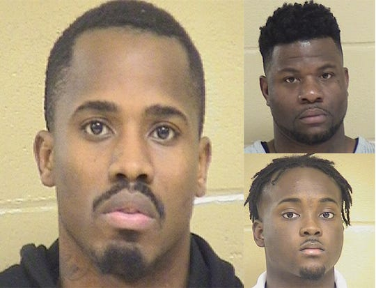 Trevon Anderson, Glenn Frierson and Lawrence Pierre were arrested Jan. 15 in connection with the death of Shreveport Police Officer Chateri Payne.