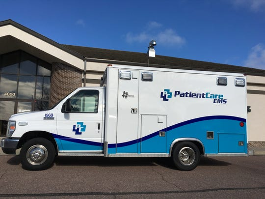 PatientCare EMS, formerly Paramedics Plus, is re-wrapping its Sioux Falls fleet with new decals and logos.