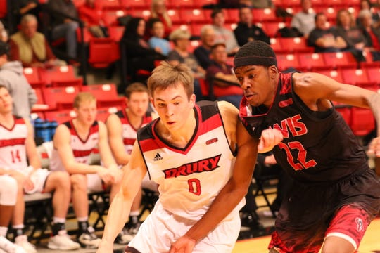 Drury guard Conley Garrison, a sophomore from Bolivar, thinks the team is ready for a strong finish.