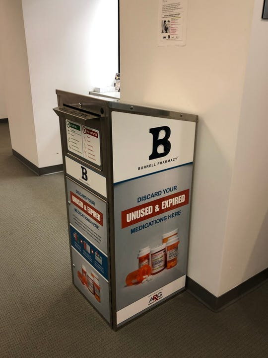 "Burrell Pharmacy now has two Springfield locations with ""takeback"" cabinets for disposing of unused and expired medications. That brings the total number of such locations in Springfield to four, according to the DEA."