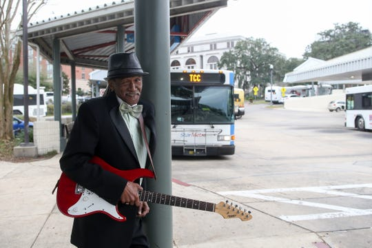 Darryl Steele, local musician and son of the late civil rights leader C.K. Steele, will perform live music at the C.K. Steele Plaza bus station in Tallahassee Monday, Jan. 21, 2019, Martin Luther King Day.