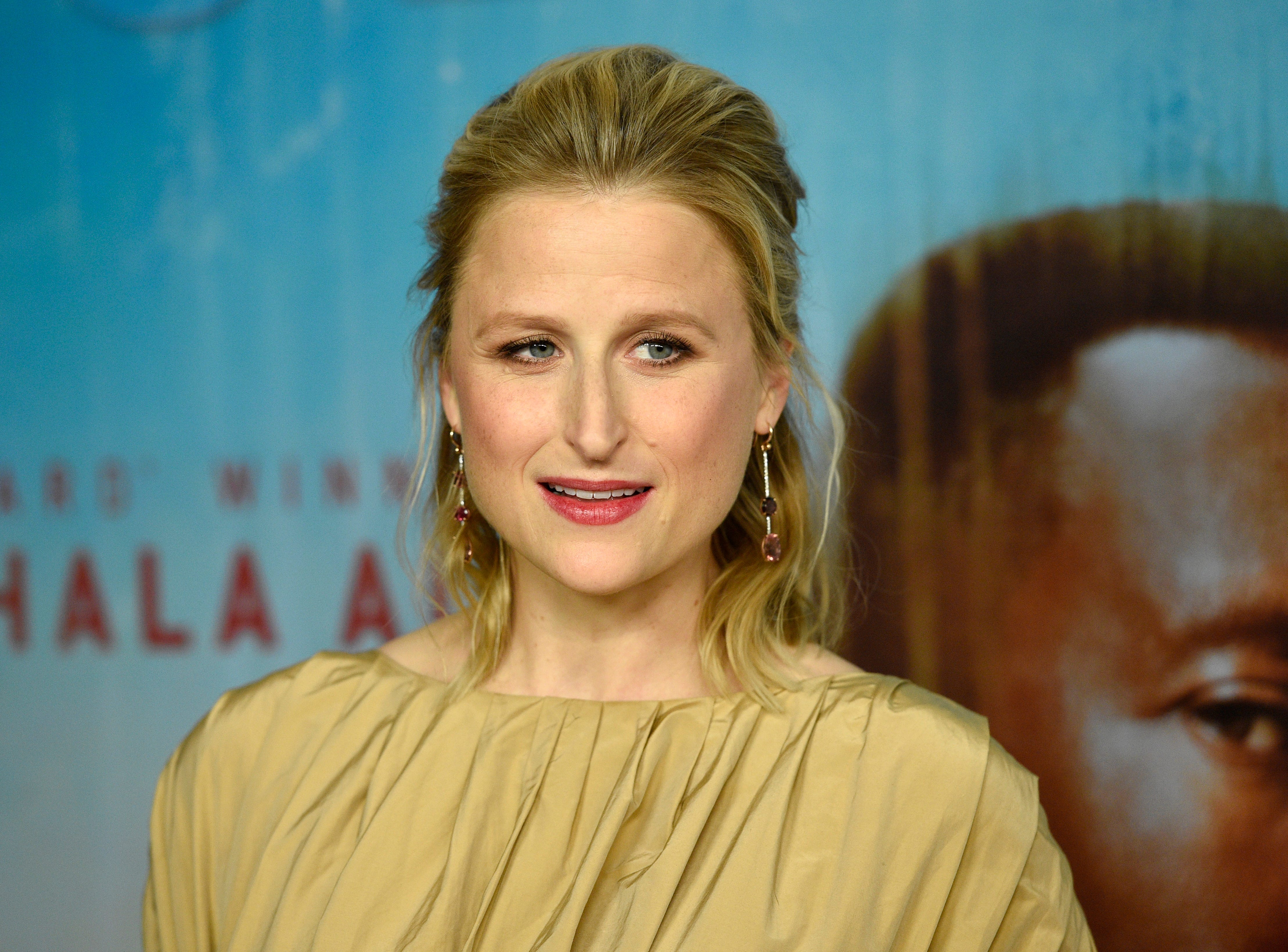 """Mamie Gummer arrives at the Los Angeles premiere of """"True Detective"""" season 3 at the Directors Guild of America on Thursday, Jan. 10, 2019."""