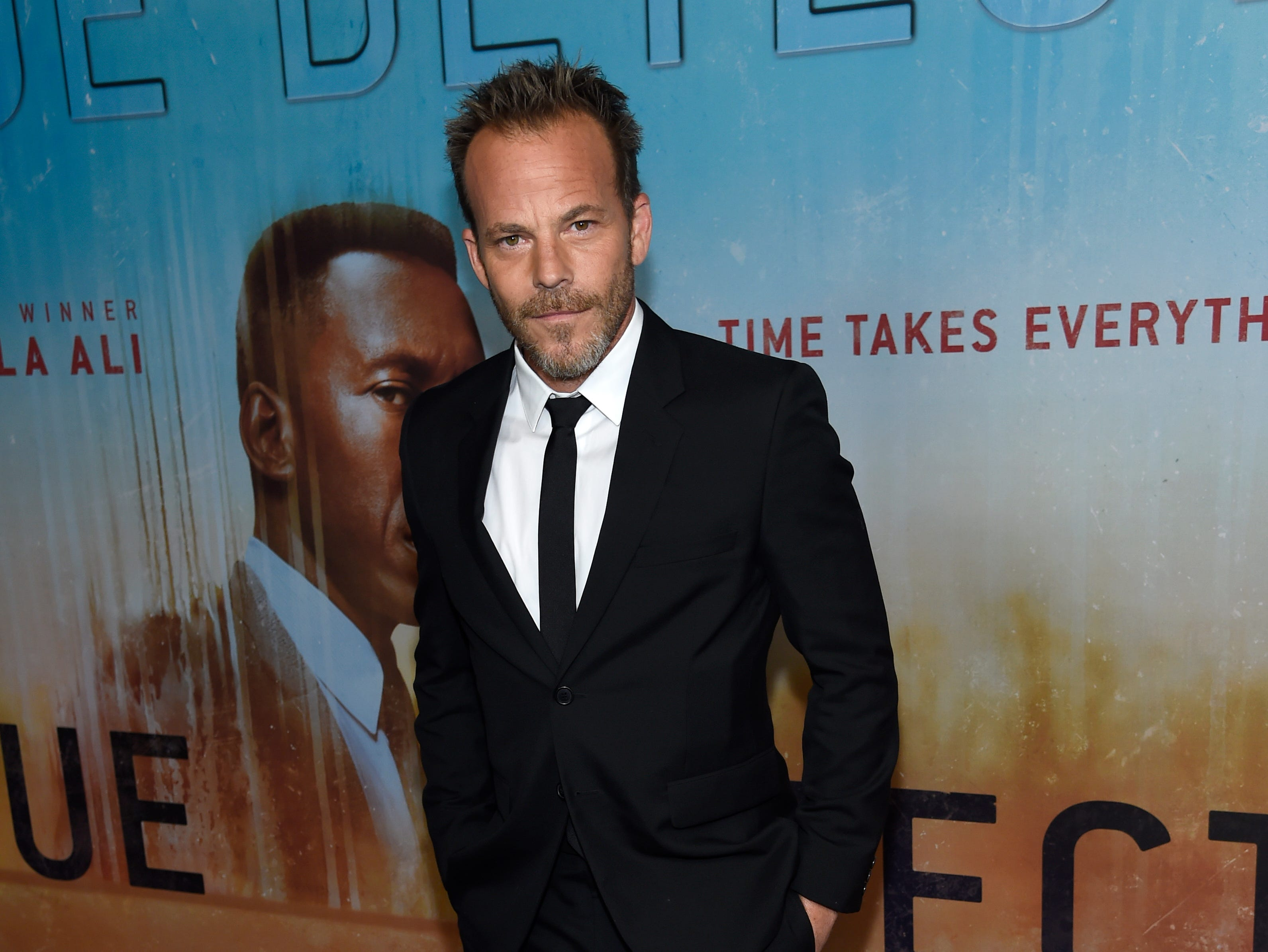 """Stephen Dorff arrives at the Los Angeles premiere of """"True Detective"""" season 3 at the Directors Guild of America on Thursday, Jan. 10, 2019."""