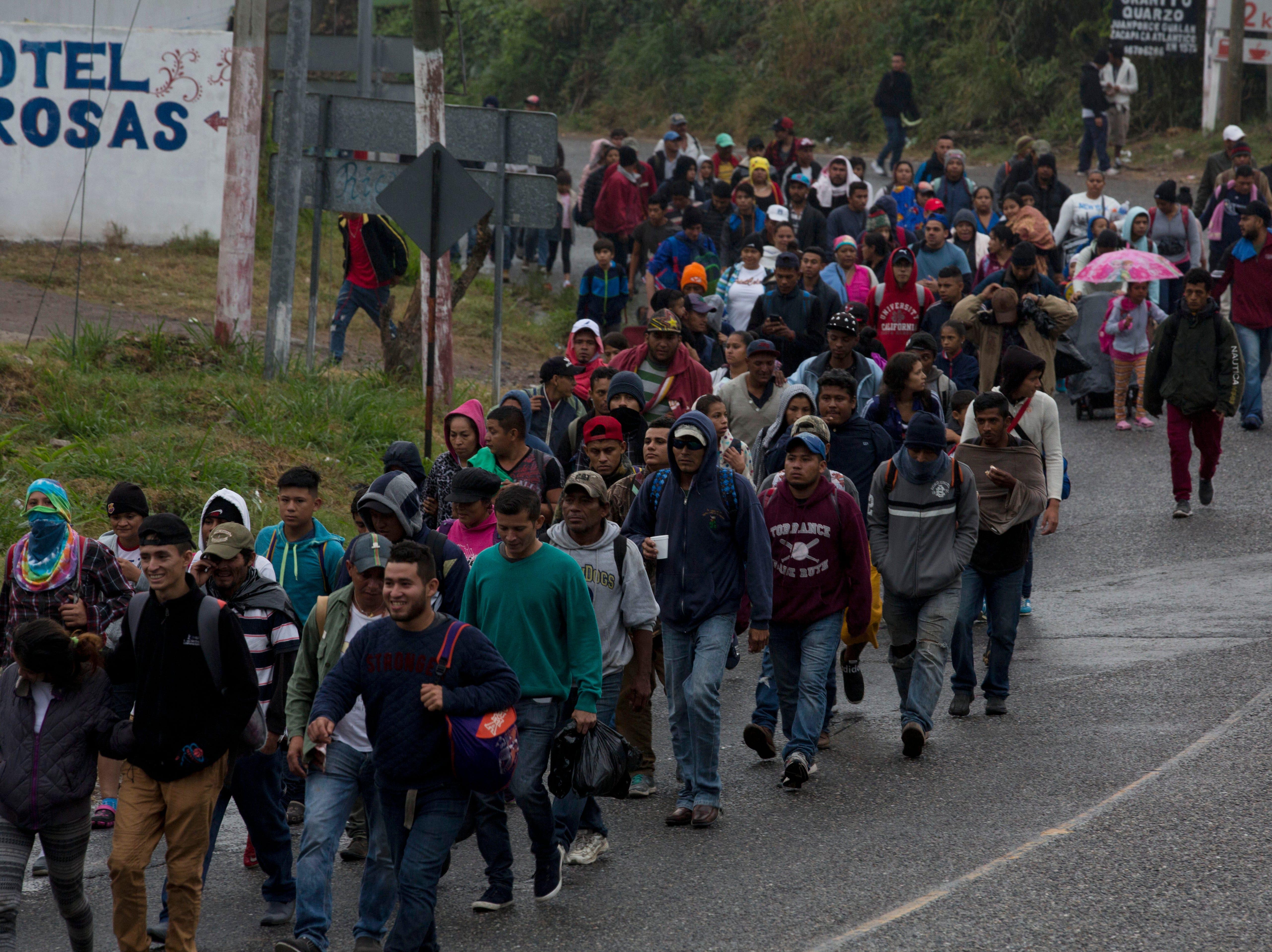 Ahead of Trump El Paso rally, migrants continue arriving in Juárez