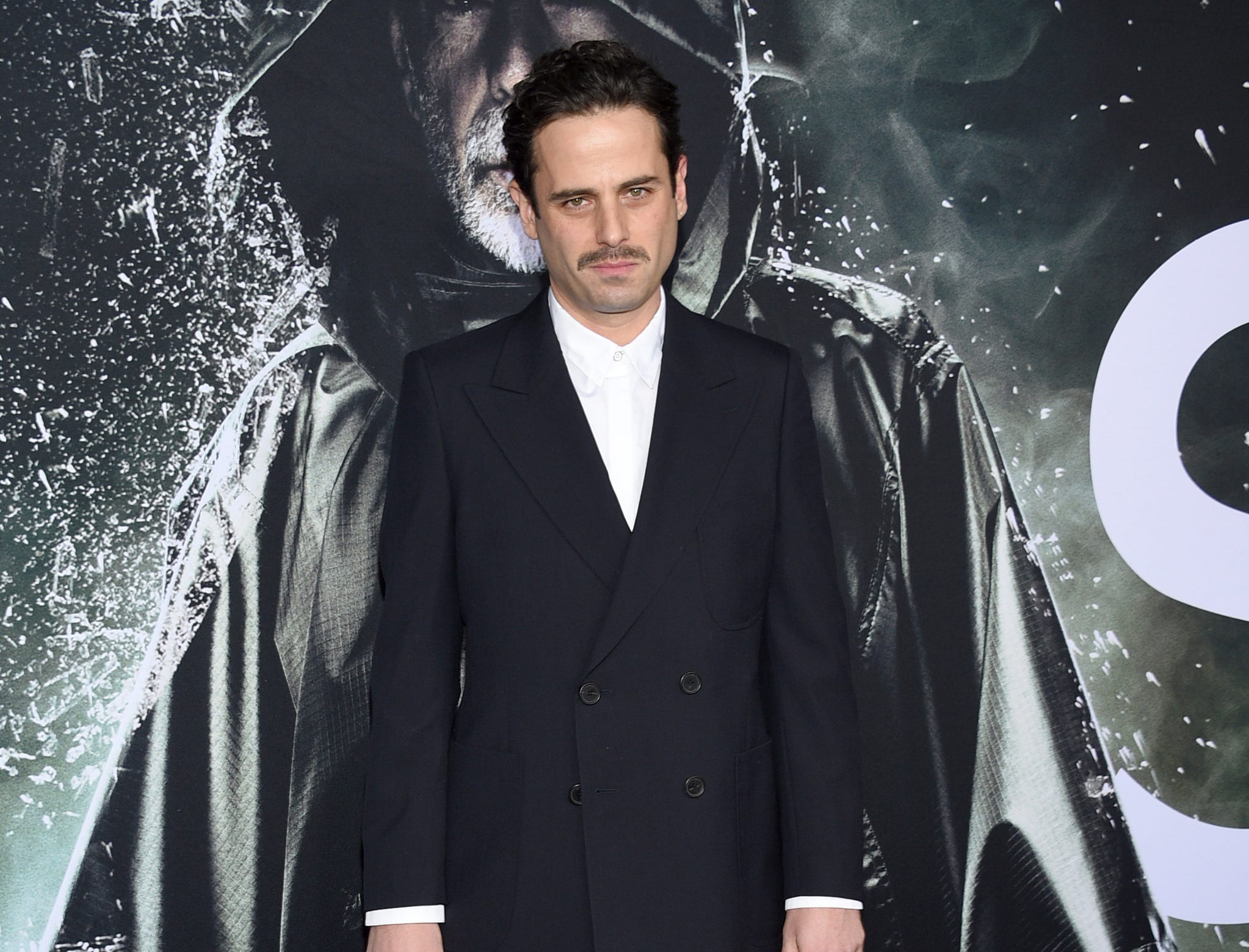 """Luke Kirby attends the premiere of """"Glass"""" at the SVA Theatre on Tuesday, Jan. 15, 2019, in New York."""