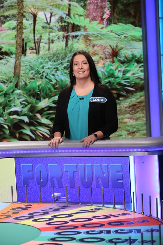 Millville resident Lora Whitehead is schedule to appear on Wheel of Fortune this week.