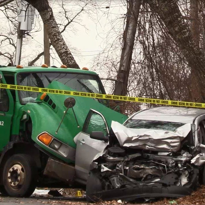 Off-duty NYPD officer from New Rochelle dies in crash with garbage truck
