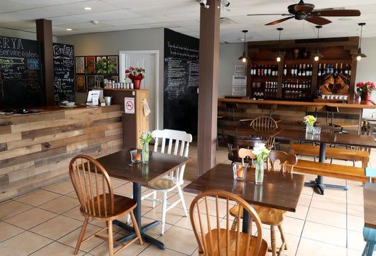 The dining room at Karenderya restaurant on Main Street in Nyack, Jan. 16, 2019.
