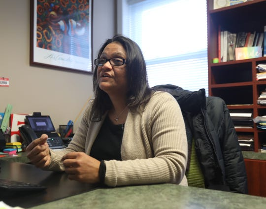 Elizabeth Santiago, the executive director of the center talks about how the government shutdown impacts the residents of Rockland in her office in New City on Jan. 15, 2019.