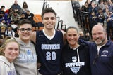 Suffern senior Will Krebs scored his 1,000th career point during a 56-50 win at Spring Valley High School on Jan. 15, 2019.