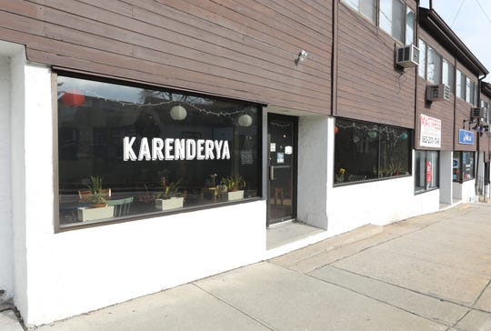 The exterior of Karenderya restaurant on Main Street in Nyack, Jan. 16, 2019.