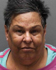 Olga LOZANO, 54, was charged with one count of felony criminal possession of a controlled substance.
