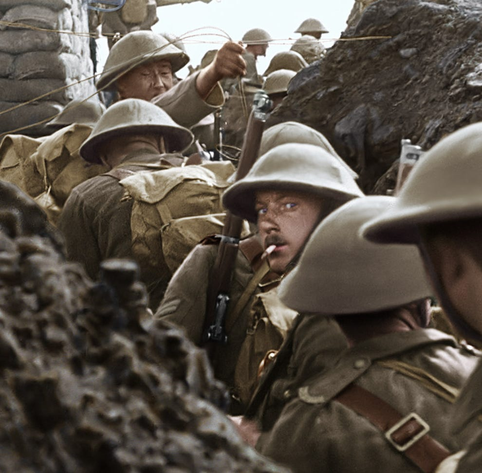 'LOTR' director Peter Jackson's WWI doc 'They Shall Not Grow Old' returns for 1 day