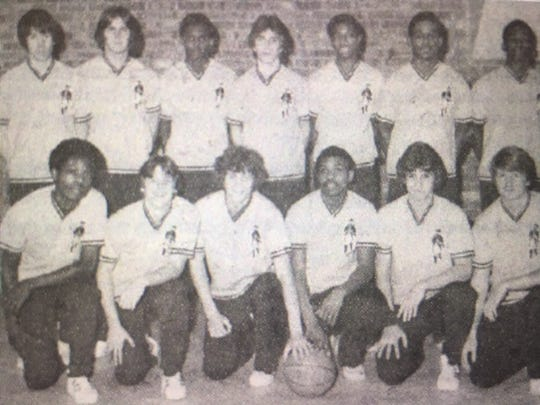 Concord's 1979 state basketball championship team that will be honored and gather for a reunion Thursday.
