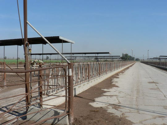 Empty corrals became a common sight in the late 2000's as dairies moved elsewhere and developers moved in.