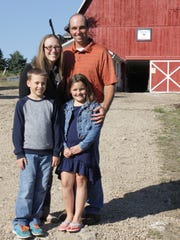 Since purchasing the family farm in Richland County back in 2012, Mark and Cari Stoltz have leaned on their faith, positive attitude and strong work ethic to build up their organic dairy operation.