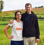 Scott Laeser and Chelsea Chandler are tackling their farming dreams in the Driftless Region of the state, running a . community-supported agriculture farm called Plowshares and Prairie Farm near Argyle in Lafayette County where they grow over 200 varieties of certified organic fruits and vegetables.