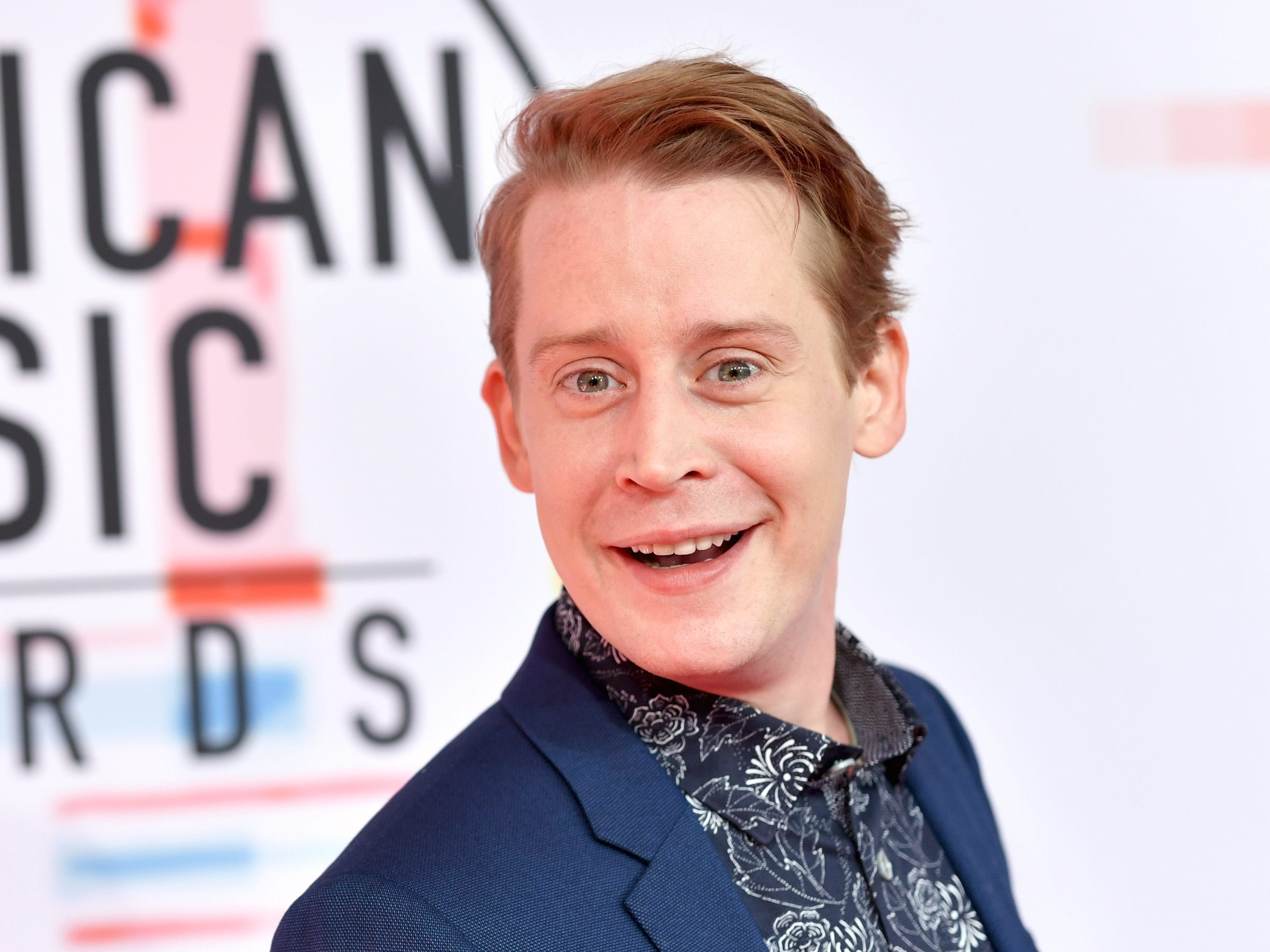 Macaulay Culkin at the 2018 American Music Awards on Oct. 9, 2018 in Los Angeles.