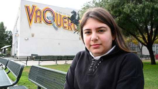 Angelina Papazian, a student at Vista Middle School, said things were better on the second day of a walkout by  30,000 members of United Teachers Los Angeles.