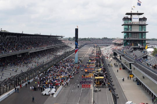 Sept. 8: Big Machine Vodka 400 at the Brickyard at Indianapolis Motor Speedway (2 p.m., NBC).