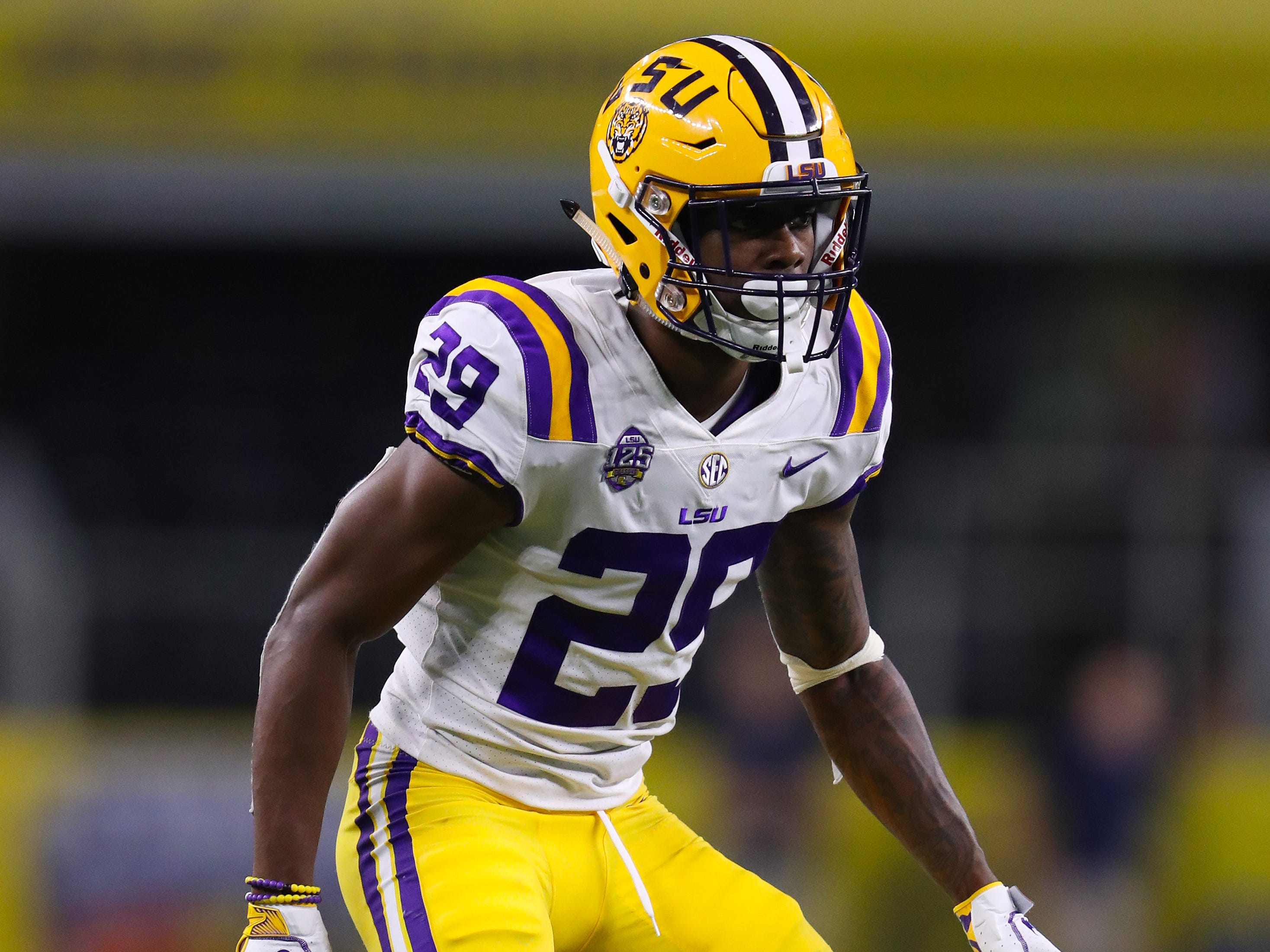 2. 49ers — Greedy Williams, CB, LSU