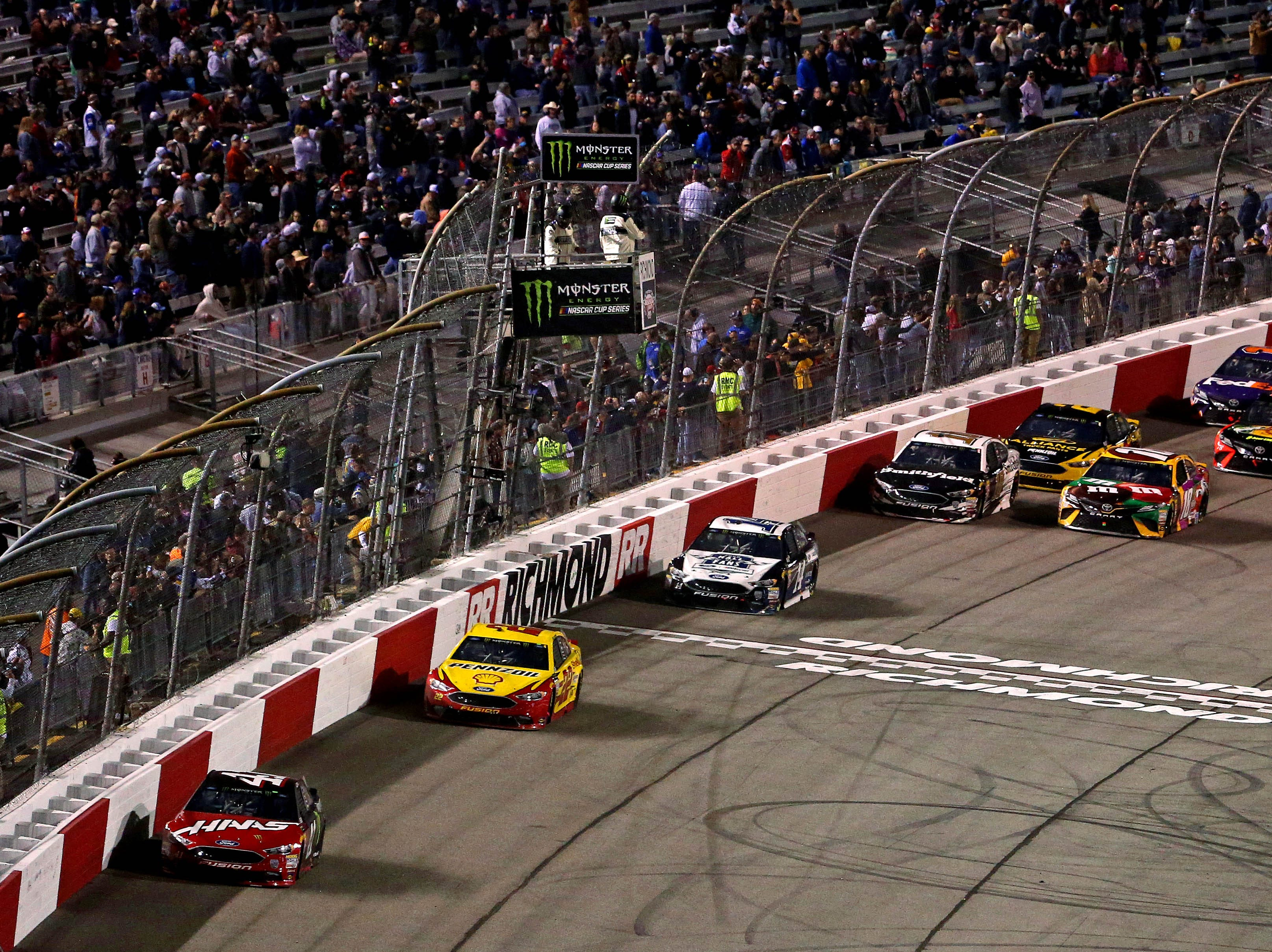 Sept. 21: Federated Auto Parts 400 at Richmond Raceway (7:30 p.m., NBCSN).