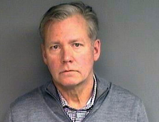 """Chris Hansen, former host of the television program """"To Catch a Predator,"""" was arrested Monday in his hometown of Stamford, Conn. on charges he wrote bad checks for $13,000 worth of marketing materials."""