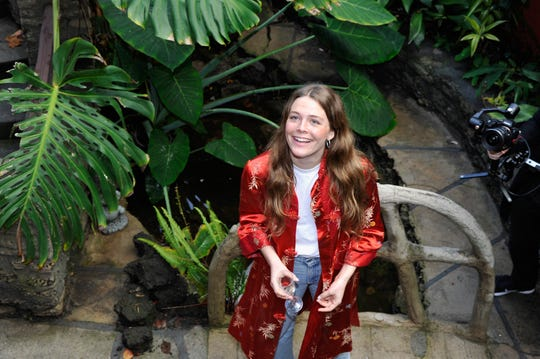 """Singer-songwriter Maggie Rogers, 24, whose album """"Heard It in a Past Life"""" is out Friday."""