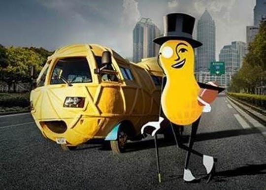 Mr. Peanut will have an ad in this year's Super Bowl.