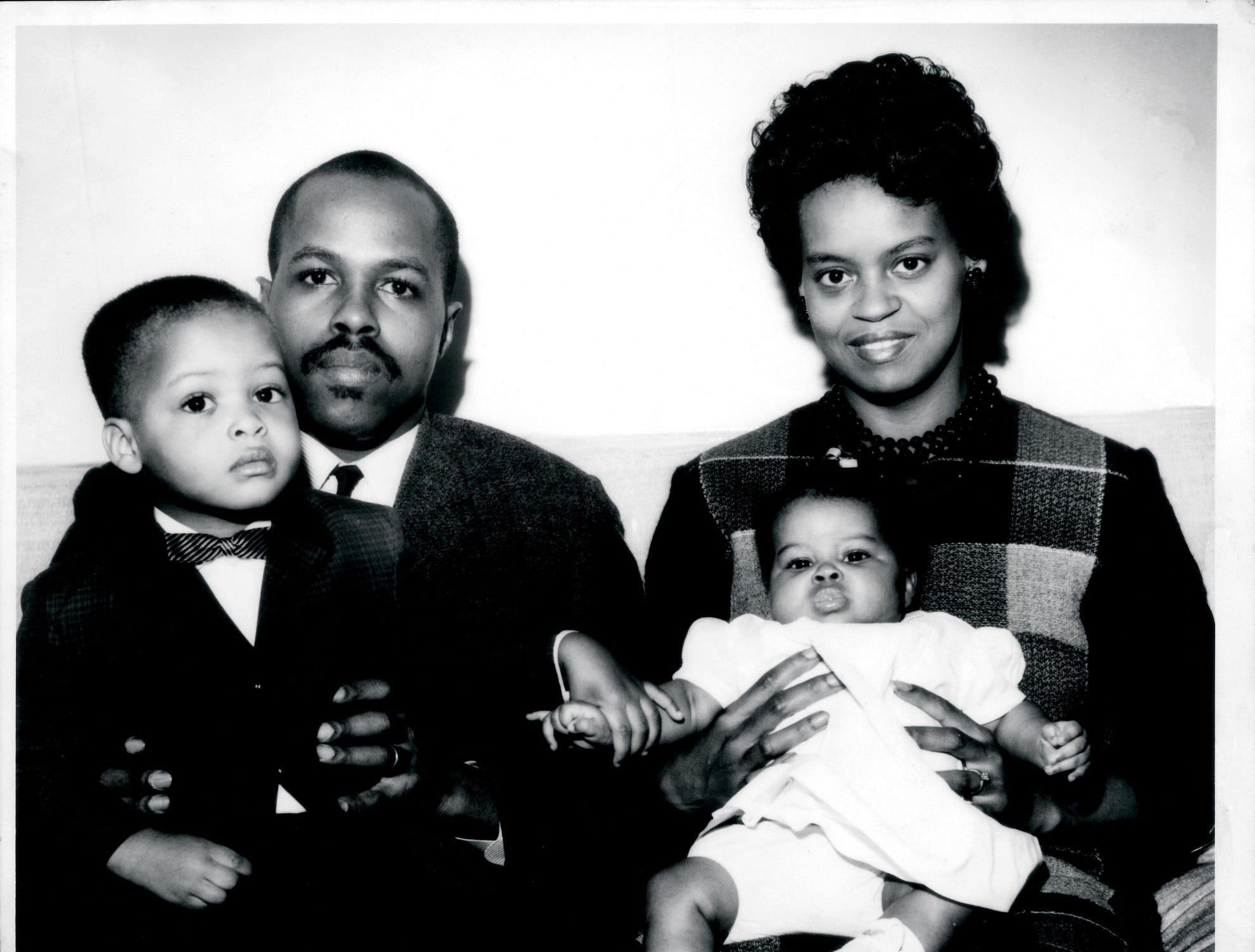 Michelle Obama as a child to go with Susan Page's Tuesday cover story, 5/31/2012.  [Via MerlinFTP Drop]