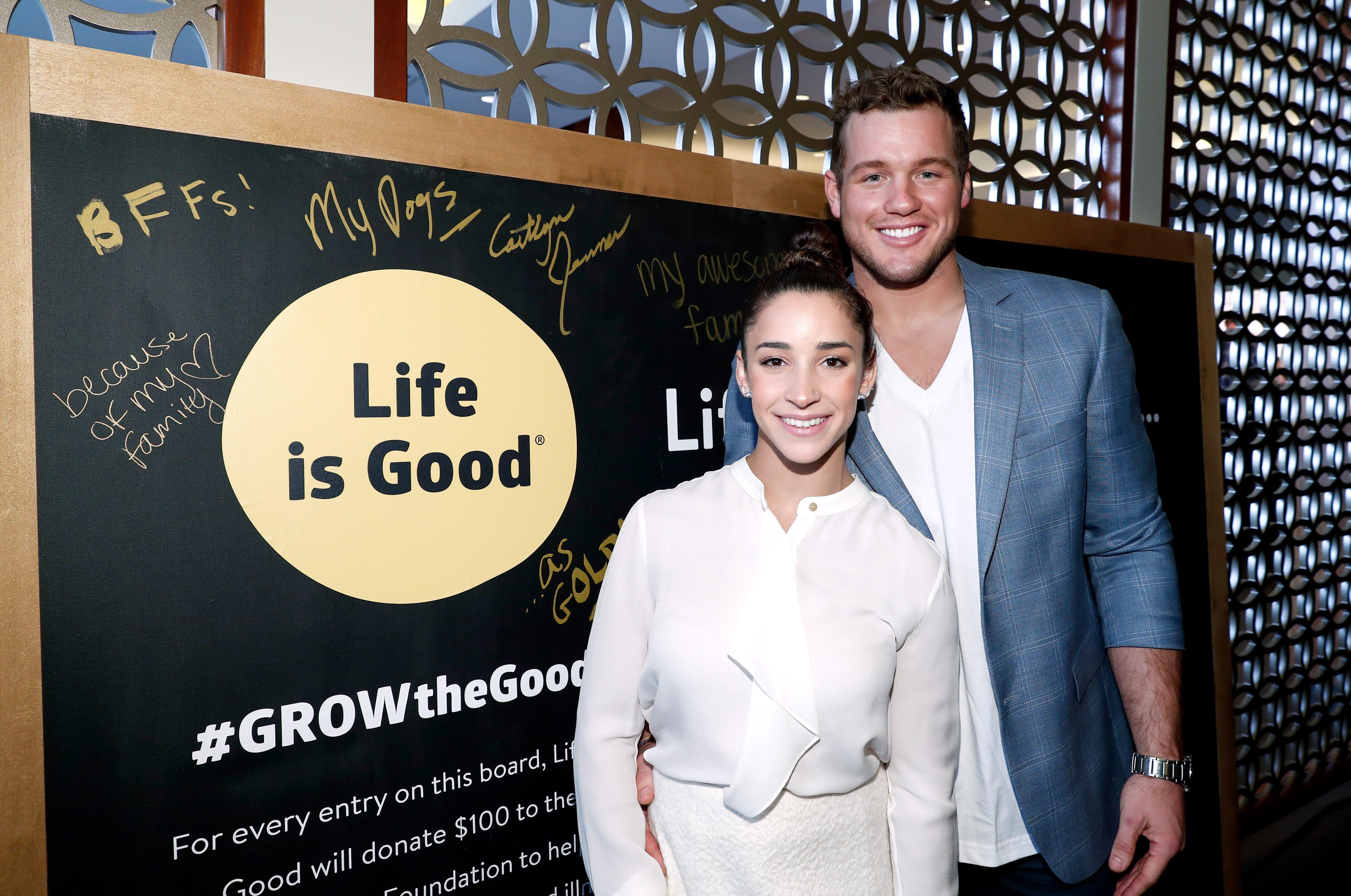 'Bachelor' star Colton Underwood talks 'first love' and 'worst heartbreak': gymnast Aly Raisman