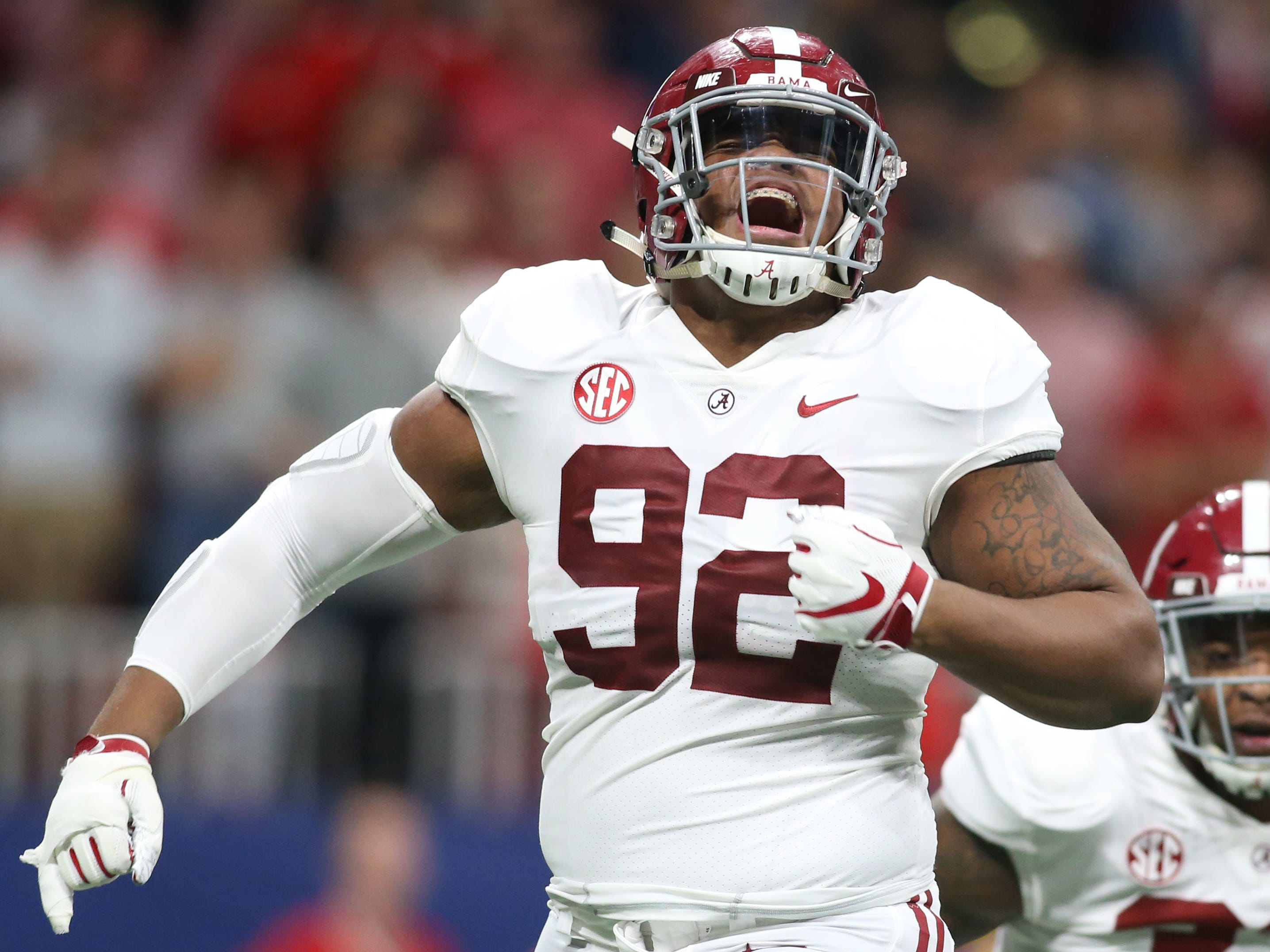 1. Cardinals — Quinnen Williams, DT, Alabama