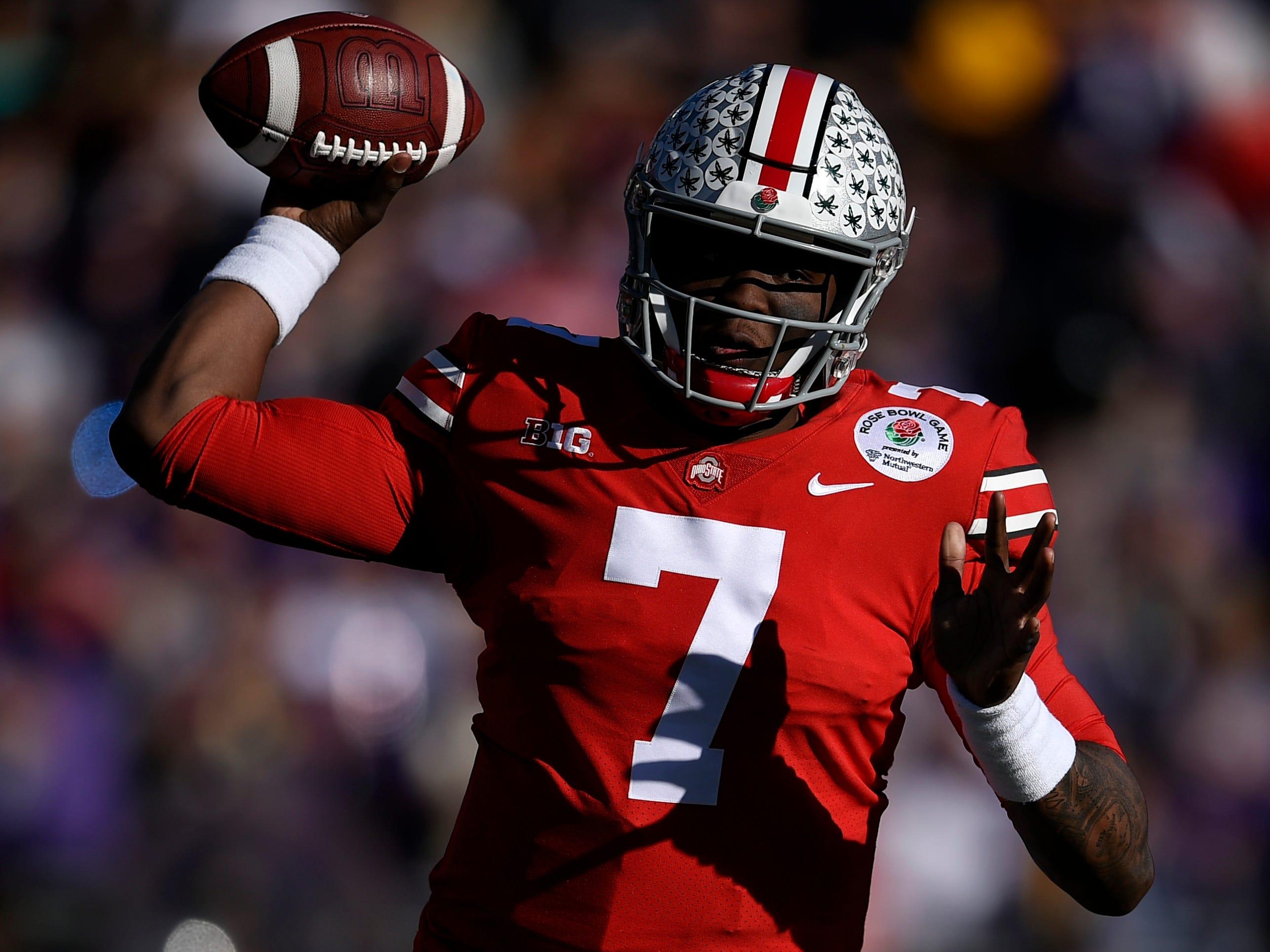 10. Broncos — Dwayne Haskins, QB, Ohio State