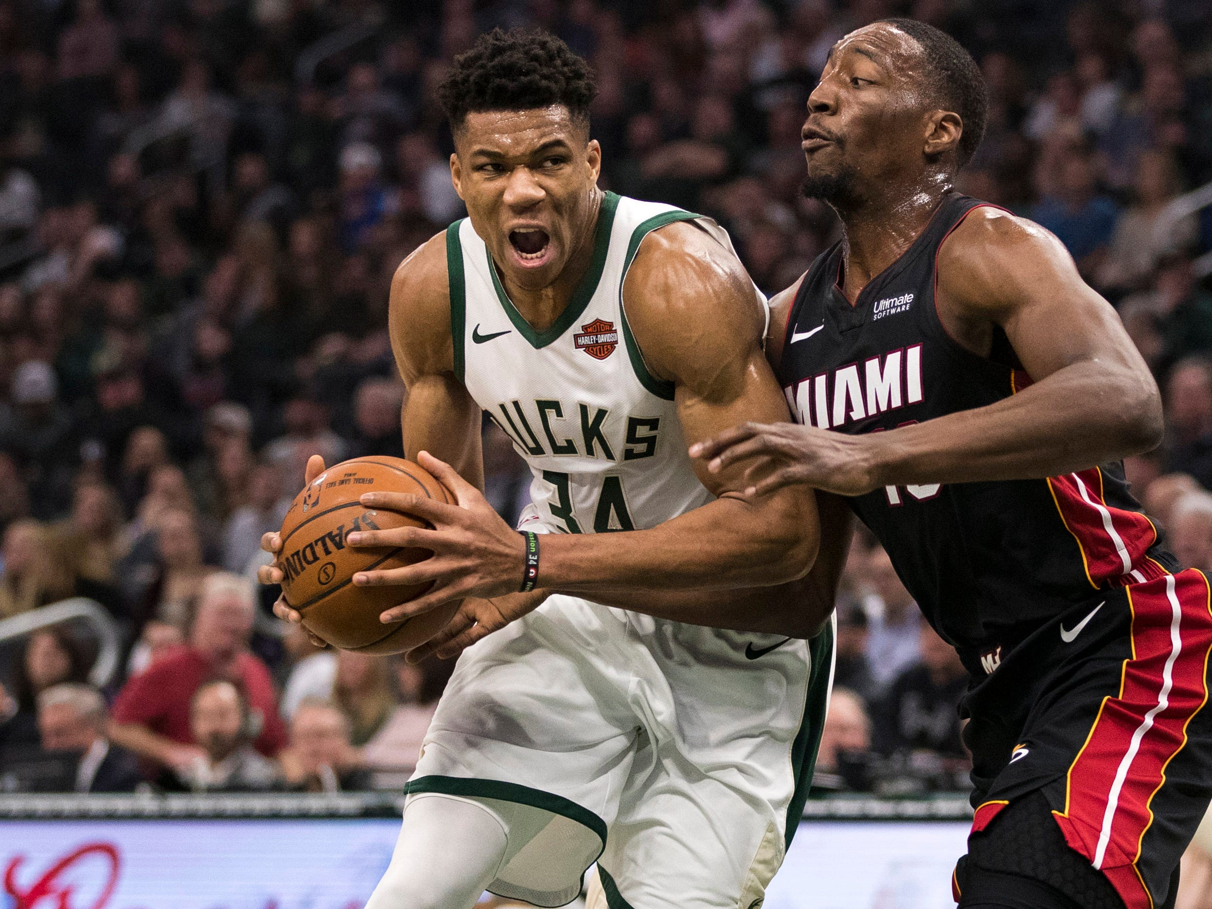 54. Giannis Antetokounmpo, Bucks (Jan. 15): 12 points, 10 assists, 10 rebounds in 124-86 win over Heat (fourth of season).