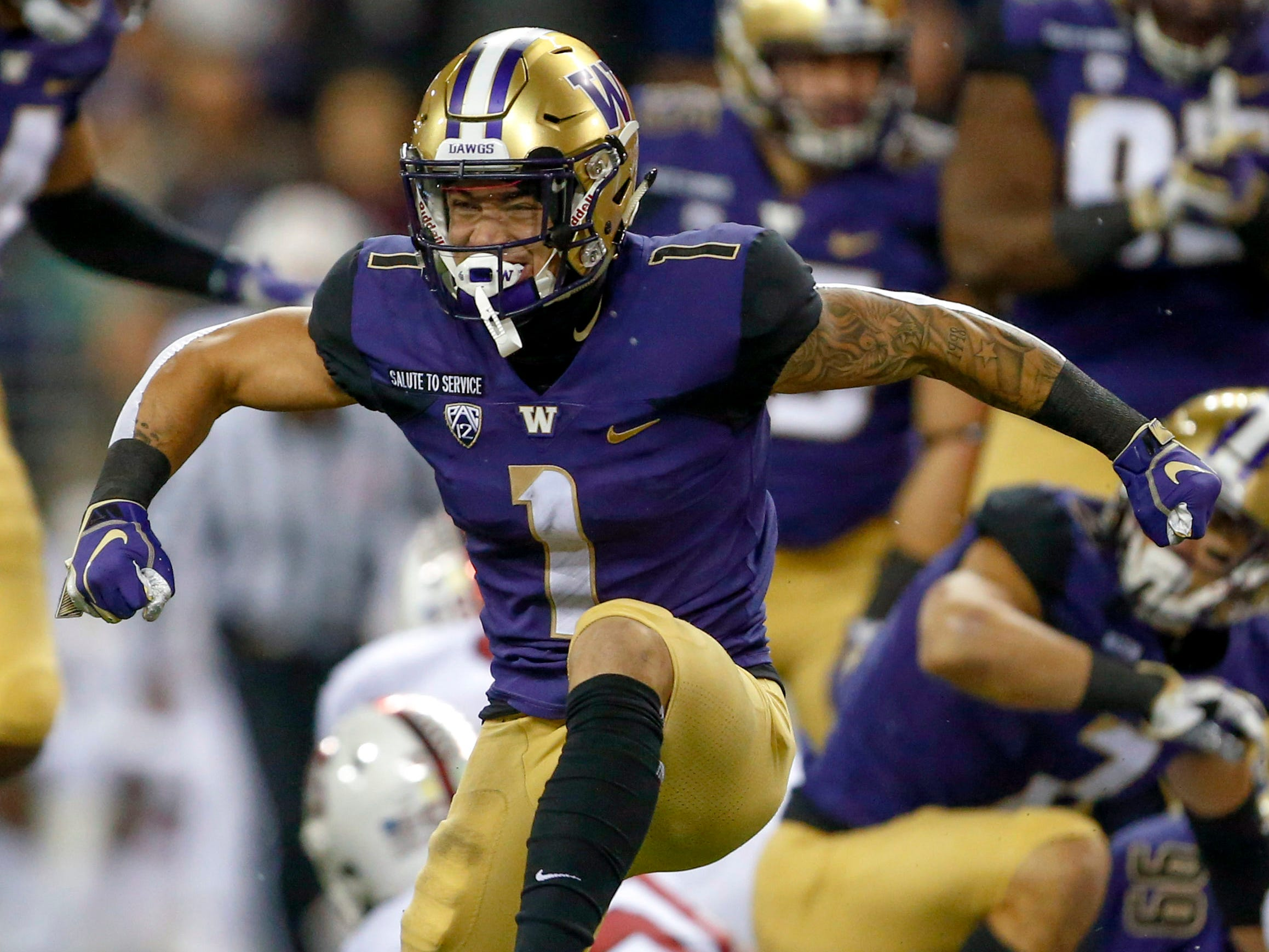 24. Oakland Raiders (from Chicago) — Byron Murphy, CB, Washington